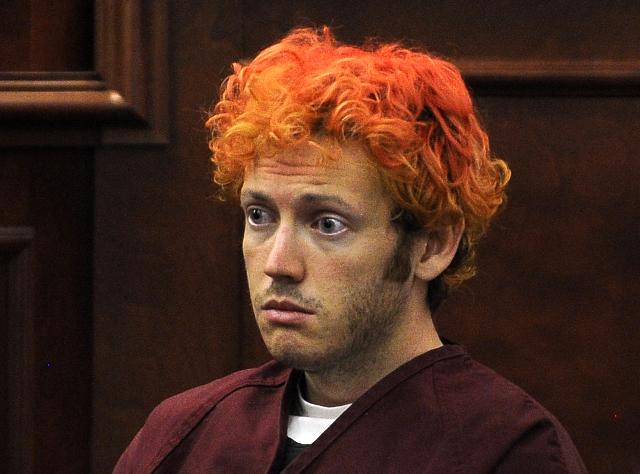 James Eagan Holmes  in Aurora, Colorado, July 23, 2012. (RJ Sangosti/Pool/Reuters)