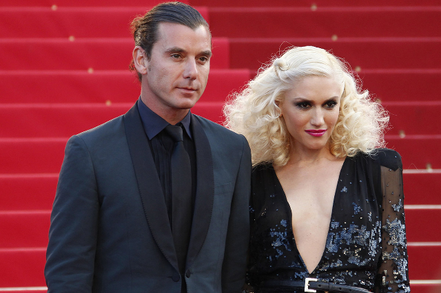 "Singer Gwen Stefani (R) and musician Gavin Rossdale arrive on the red carpet for the screening of the film ""The Tree of Life"" in competition at the 64th Cannes Film Festival in Cannes Ma ..."
