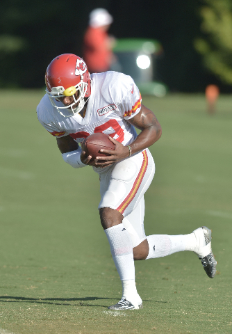 Aug 11, 2015; St. Joseph, MO, USA; Kansas City Chiefs strong safety Eric Berry (29) catches a pass during the training camp at Missouri Western State University. (Denny Medley/USA Today Sports)