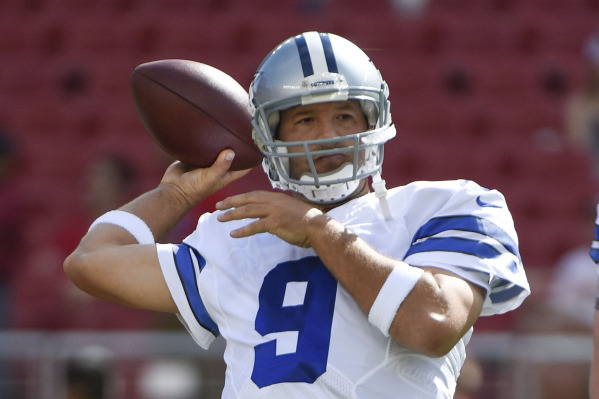 Cowboys quarterback Tony Romo, who finished ninth among quarterbacks in standard fantasy scoring last season, could be a bargain this season, considering he is being selected, on average, as the 1 ...