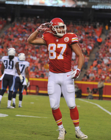 Chiefs tight end Travis Kelce, known by his teammates as Zeus, figures to build upon his 67-catch, 862-yard season of 2014, when he had to share tight end snaps with since-departed Anthony Fasano. ...