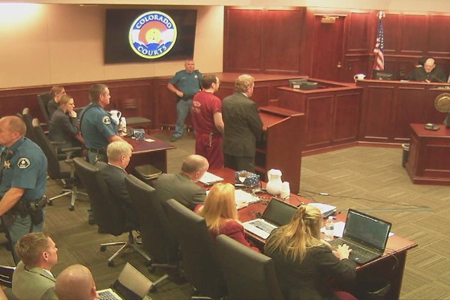 Movie theater shooting gunman gets the maximum sentence (WEWS - Cleveland, OH/NDN)