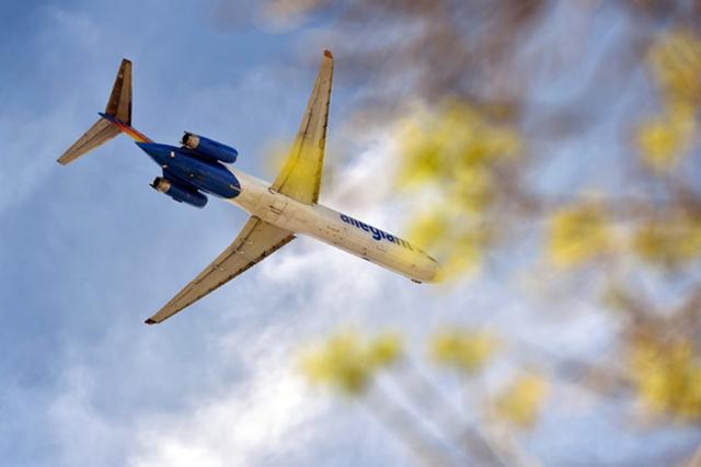 Allegiant Airline (David Becker/Las Vegas Review-Journal)