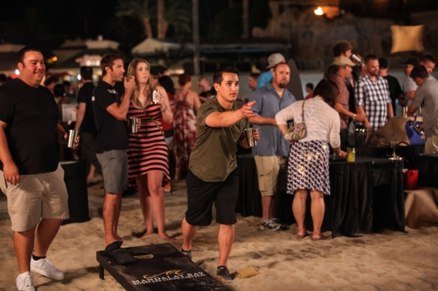 Beach Games at LV Beer and Barrel 2014 (Courtesy)