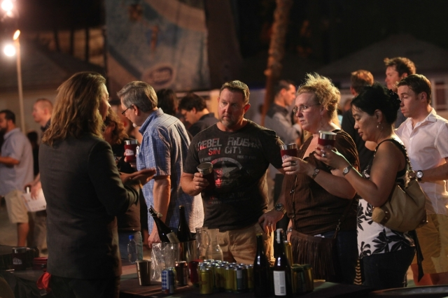 Crowd at LV Beer and Barrel 2014 (Courtesy)