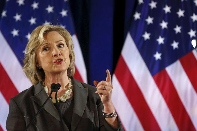Hillary Clinton on July 24, 2015. (Shannon Stapleton/Reuters)