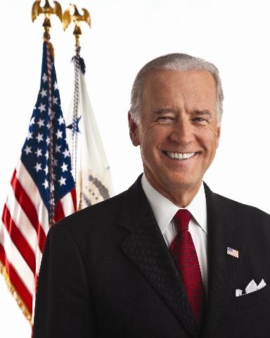 The official White House portrait of Vice President Joe Biden. (CNN)
