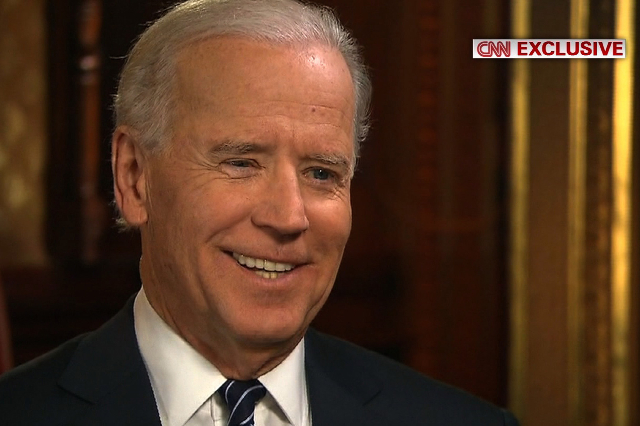 """CNN Chief Political Analyst Gloria Borger holds an exclusive interview with Vice President Joe Biden before the Inauguration. When asked if he will run for office in 2016, Biden responded, """"I ..."""