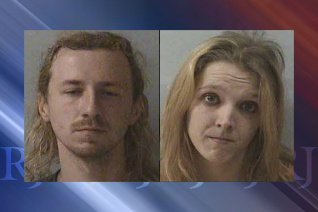 Timothy Alan Buchanan, left, and Amanda Jo Johnston, right (McDowell Co. Sheriff's Office)