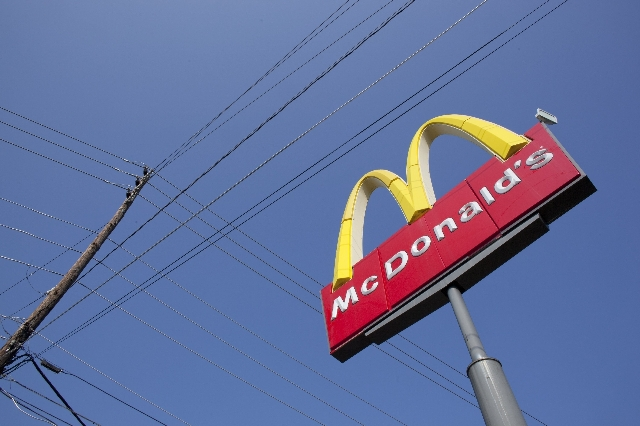 An exterior angle photograph of a McDonald's Restaurant. (CNN)