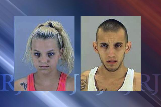 Heather Sandau (left) and Nicolas Anton (Summit County Jail)