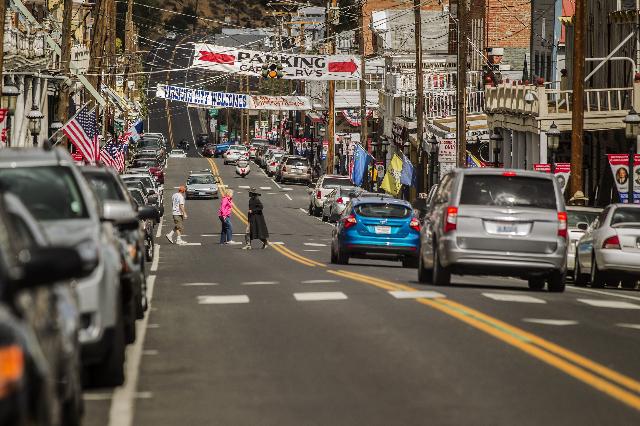 C Street as seen Wednesday, Sept. 25, 2013 in Virginia City, Nev. (Jeff Scheid/Las Vegas Review-Journal)