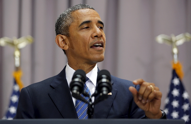 U.S. President Barack Obama  (Jonathan Ernst/Reuters)