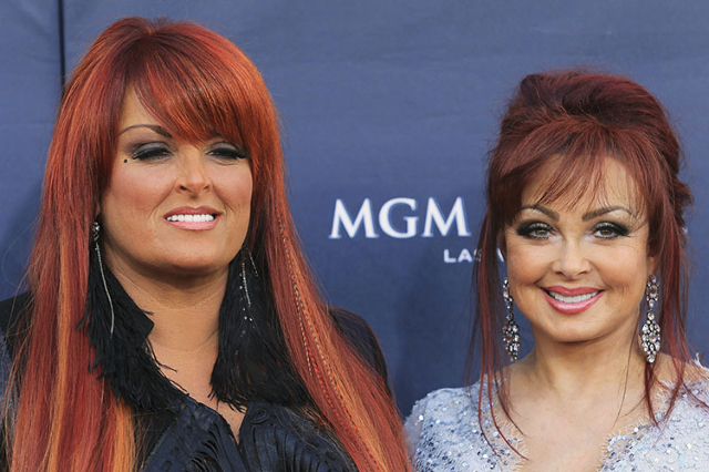 The Judds, Wynonna Judd (L) and Naomi Judd arrive at the 46th annual Academy of Country Music Awards in Las Vegas April 3, 2011. (Sam Morris/Reuters)