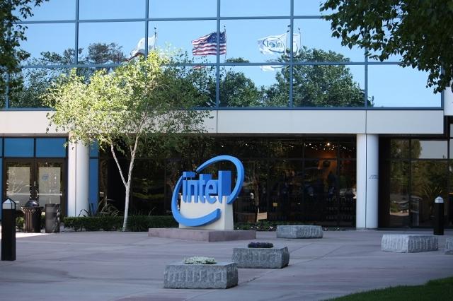Intel Headquarters (Jim Castel/CNN)