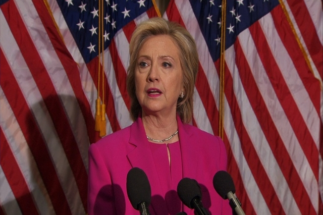Democratic presidential candidate and former secretary of State Hillary Clinton said Tuesday that President Barack Obama called her when negotiators had reached a deal on Iran's nuclear prog ...