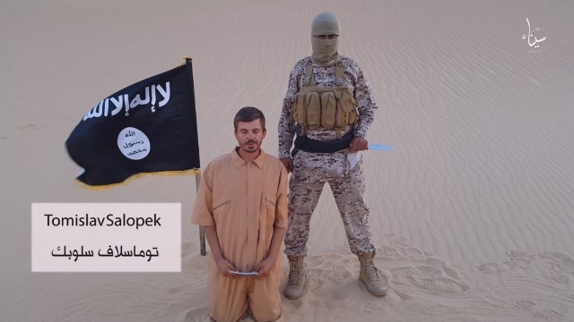 In a video purportedly released by ISIS in early August, 2015, a group claiming to be ISIS' branch in the Sinai Peninsula, threatens to kill Croatian hostage Tomislav Salopek if Egypt doesn& ...
