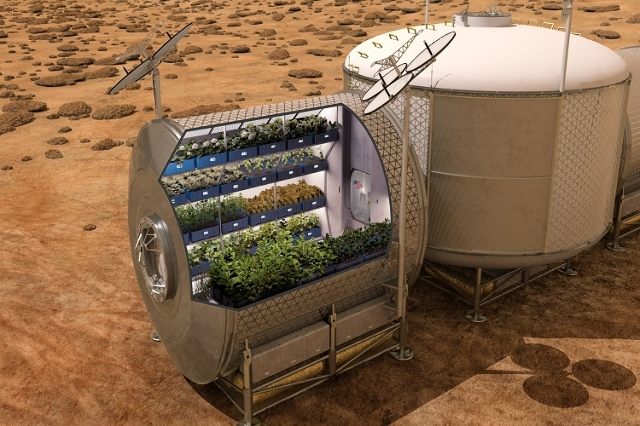 NASA plans to grow food on future spacecraft and on other planets as a food supplement for astronauts. Fresh food, such as vegetables, provide essential vitamins and nutrients that will help enabl ...