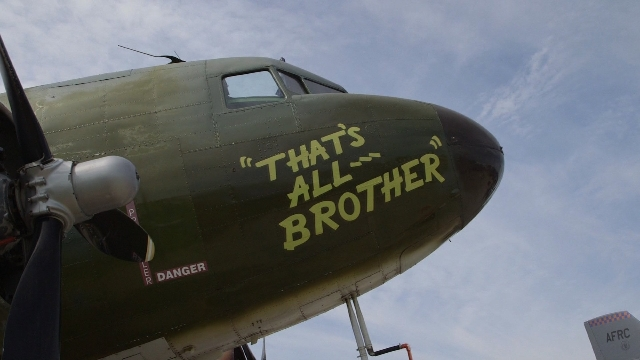 After World War II, it was common for the armed forces to sell aircraft it no longer needed or even sink them in the ocean. The lead C-47 plane plane in D-Day invation with an ominous message for  ...
