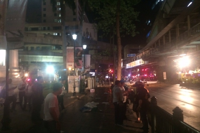 Police are sealing off the scene of a deadly blast near a popular Hindu shrine in central Bangkok because a bomb in the area remains active and needs to be defused, police at the scene told CNN on ...