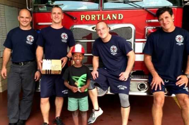 Six-year-old Abay Milner had questions about the smoke in Portland, OR. When he found out about the wildfires and the firefighters that had lost their lives he wanted to do something. He donated a ...