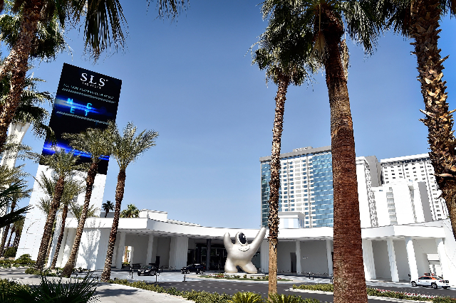 The front entrance to the SLS hotel-casino is seen on Tuesday, June 23, 2015, in Las Vegas. According to an SEC filing, the hotel-casino lost $35.3 million in the first quarter of this year. (Davi ...
