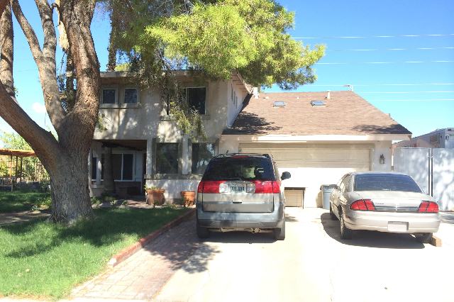 A 19-year-old man has been arrested in connection with a fatal stabbing at a home in the 5300 block of Latigo Street. (Bizuayehu Tesfaye/Las Vegas Review-Journal) Follow Bizu Tesfaye on Twitter @b ...
