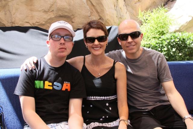 Tanner Seebaum, mom Stephanie, dad Matt. (Courtesy Landon Dyksterhouse)