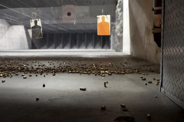 Indoor Gun Range (Thinkstock)