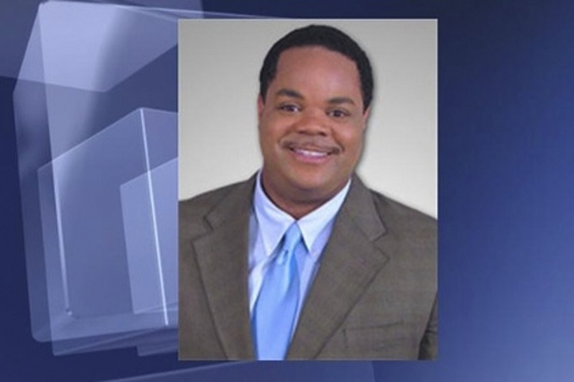 Vester Lee Flanagan, who was known on-air as Bryce Williams, is shown in this handout photo from TV station WDBJ7 obtained by Reuters August 26, 2015.  (WDBJ7/Reuters)