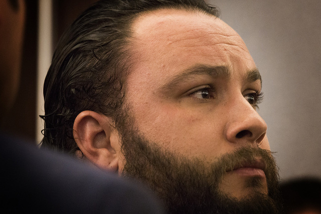 Michael Kitchen, shown in a court appearance on Tuesday, Jan. 27. (Jeff Scheid/Las Vegas Review-Journal)