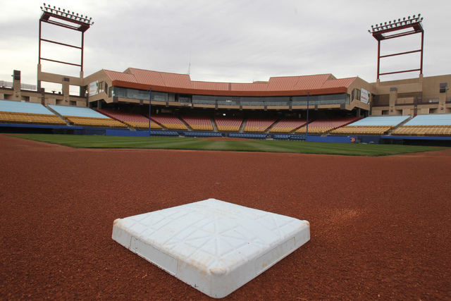 Cashman Field in Las Vegas is seen on Wednesday, Dec. 24, 2014. (Erik Verduzco/Las Vegas Review-Journal File)