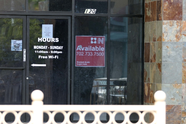 An open business space is shown at 617 Mall Ring Circle suite120 near Galleria at Sunset mall Thursday, June 4, 2015, in Henderson. (Ronda Churchill/Las Vegas Review-Journal)