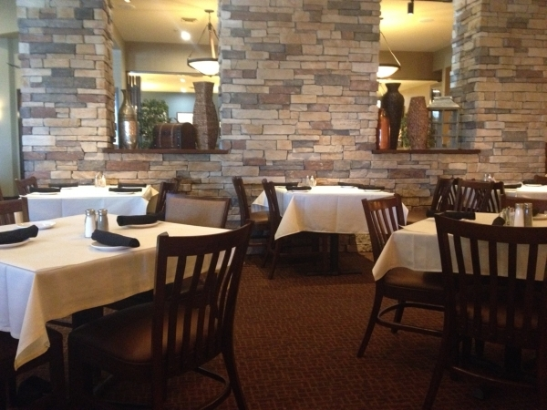 The interior of FireRock Steakhouse is seen at 5990 Centennial Center Blvd. in the northwest. (Sandy Lopez/View)