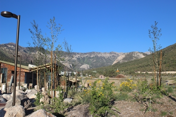 The Spring Mountain Visitor Gateway is the new 4,500-square-foot visitor center in Kyle Canyon and includes more than 40 miles of new hiking trails. (Deborah Wall/Special to View)