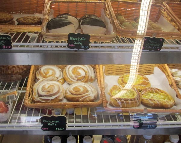 Pastries are shown at The Coffee Press inside the Paseo Verde Library, 280 S. Green Valley Parkway. (Cassandra Keenan/View)
