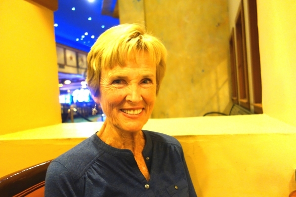 Nedra Paschal is games director of the 2015 Nevada Senior Games. (Diane Taylor/Special to View)