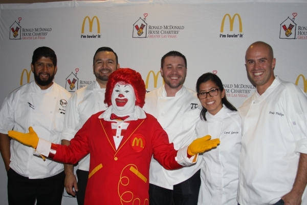 The McDonald's at 6990 S. Rainbow Blvd. hosted an Appetite for the Arches event Aug. 18 to raise funds for the Ronald McDonald House of Greater Las Vegas. Four celebrity chefs prepared a thr ...
