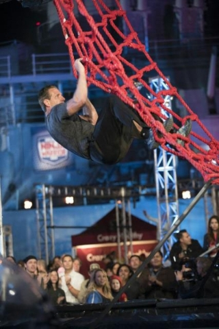 """Findlay Toyota finance manager Kirk Alexander recently competed in the nationally televised """"American Ninja Warrior"""" competition in San Pedro, Calif. COURTESY PHOTO"""