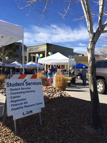 The College of Southern Nevada prepared for an influx of new and returning students Aug. 24 and 25 with a formal Welcome Back Crew deployed on its three campuses to help students navigate the firs ...