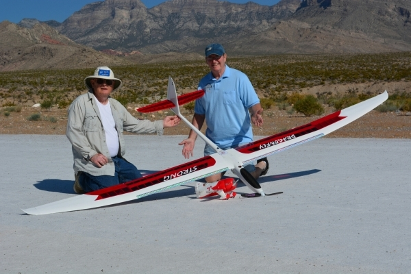 The Las Vegas Soaring Club plans to host a swap meet, barbecue and raffle during its first all-day, open electric flying festival set for Sept. 5 at the landing strip on the north side of West Cha ...