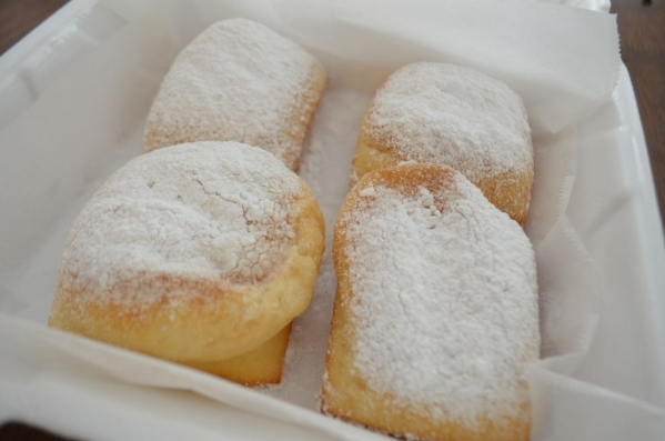 New Orleans-style beignets are among the specialities at Street Car Po-Boys. (Ginger Meurer/Special to View)