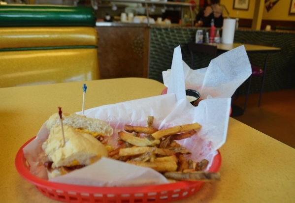 Kids menu options at Street Car Po-Boys include the Camelback, a grilled cheese and bacon sandwich with fries. (Ginger Meurer/Special to View)