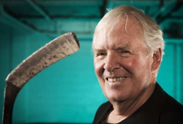 Investor Bill Foley stands for a photo at the Las Vegas Review-Journal, 1111 W. Bonanza Road, on Thursday, March 19, 2015. Foley, and his minority partners, the Maloof brothers of Las Vegas, are c ...