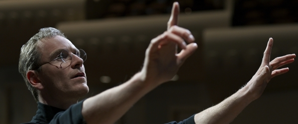 """Michael Fassbender portrays the pioneering founder of Apple in """"Steve Jobs."""" (Universal Pictures)"""