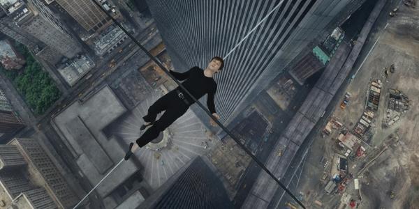 Philippe Petite (Joseph Gordon-Levitt) in The Walk. (Sony Pictures Entertainment)