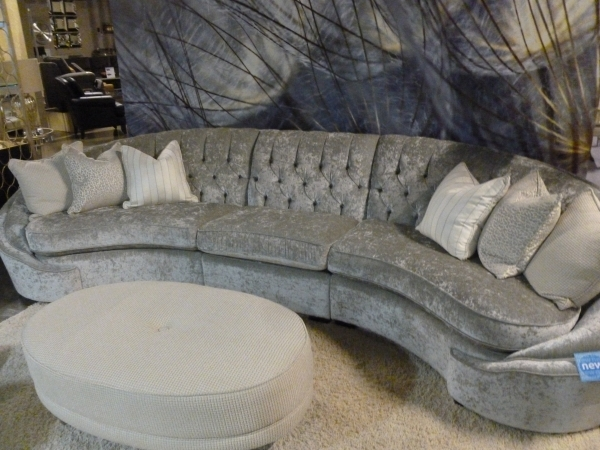 "This seating group, called ""Glamour,"" was displayed at the recent Las Vegas Market. COURTESY PHOTO"