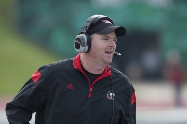 Northern Illinois coach Rod Carey has led the Huskies to 12-2 and 11-3 records in his two seasons. COURTESY NORTHERN ILLINOIS
