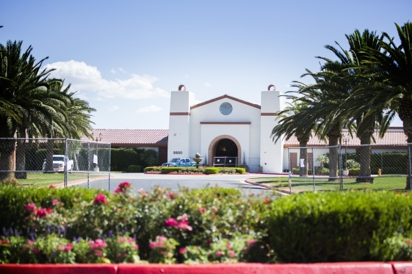 Silverstone Golf Club, 8600 Cupp Drive, is seen Thursday, Sept. 3, 2015. The 27 hole course has closed. (Jeff Scheid/Las Vegas Review-Journal) Follow him @jlscheid