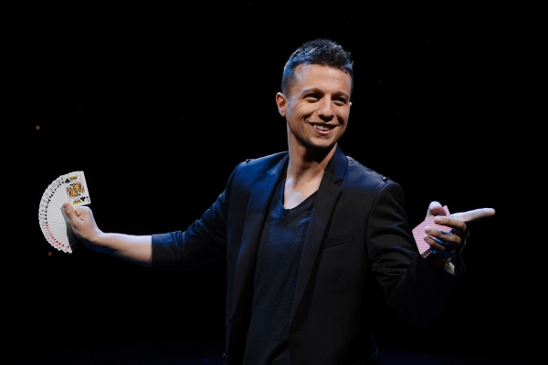 The odds are in Mat Franco's favor for a long run as the Strip's next resident magician. DENISE TRUSCELLO/COURTESY PHOTO